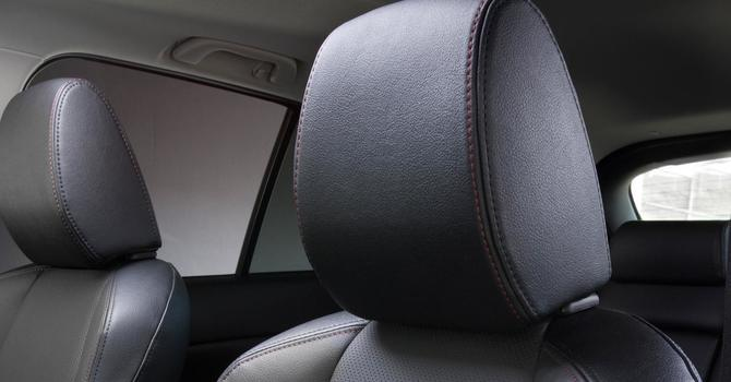 Is your headrest set at the right height for you? image