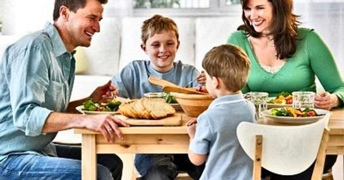 Do You Eat As A Family? If You Don't Have Time, You Need To Make Time! image